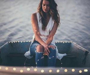 girls, light, and beautiful image