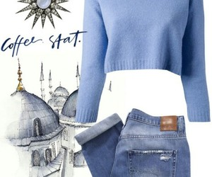 outfit, Polyvore, and enanako image