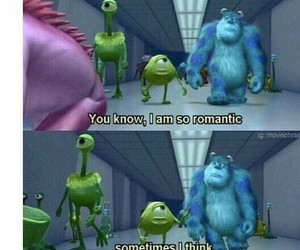 funny, romantic, and monster image
