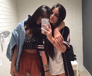 girl, bff, and friends image