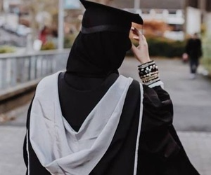 graduation and hijab image