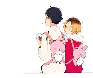 haikyuu, kenma, and anime image