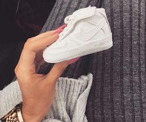 baby, nike, and shoes image