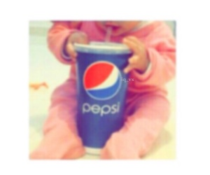 baby, child, and Pepsi image