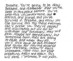 quote, breathe, and life image