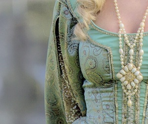 details, dress, and green image