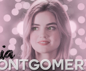 pretty little liars and aria montgomery image