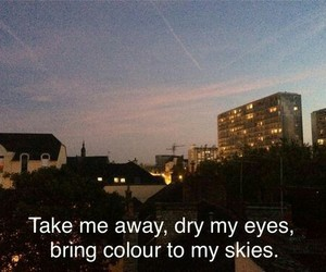 quotes, happy little pill, and sky image