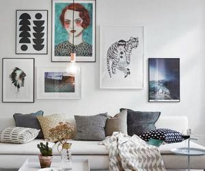 decoration, design, and living room image