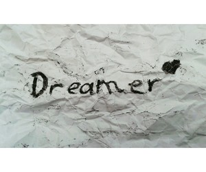 dreamer, heart, and Paper image