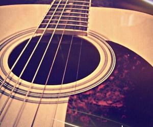 guitar, music, and guitarra image