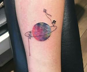 tattoo and galaxy image