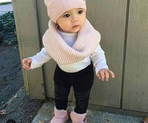 girl, baby, and fashion image
