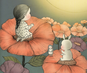 bunny, coniglio, and wallpaper image