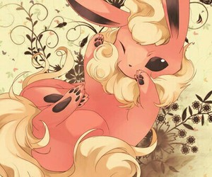 pokemon, cute, and flareon image