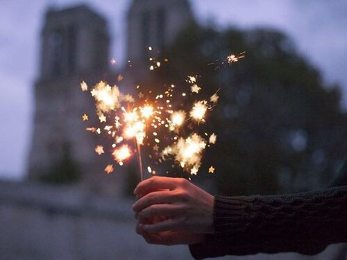 light, fireworks, and pretty image