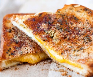 garlic and grilled cheese image
