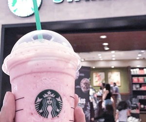 rosa, rose, and starbucks image