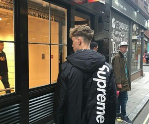 supreme, boy, and tumblr image