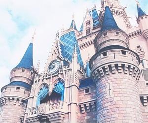 disney castle, kids, and disney image