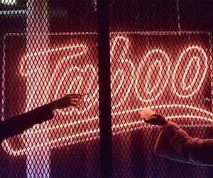 neon, taboo, and light image