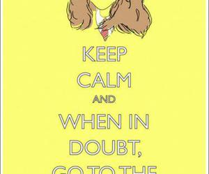 harry potter, hermione granger, and keep calm image