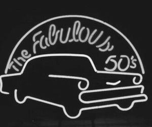 50s, car, and fabulous image
