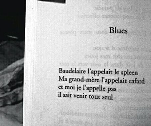 blues, baudelaire, and book image