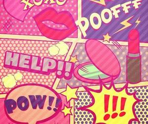 xoxo, pink, and help image