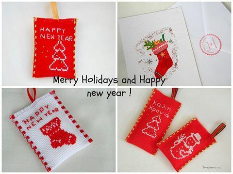 christmas cards, xmas ornaments, and red xmas image