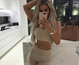 beauty, outfit, and fashion image