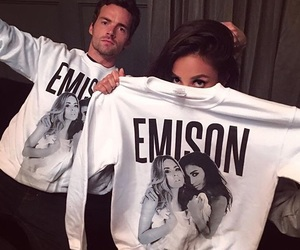 shay mitchell, pll, and ian harding image
