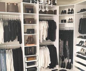 closet, home, and clothes image