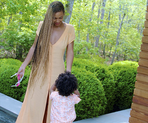 beyoncé, blue, and blue ivy carter image