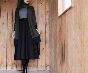 hijab, fashion, and muslim image