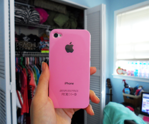 pink iphone image
