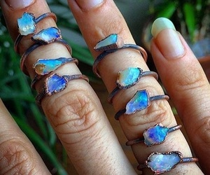 blu, blue, and crystal image