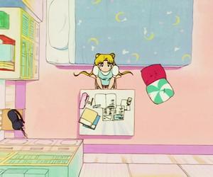 anime, moon, and sailor moon image