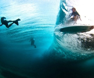 amazing, blue, and surf image