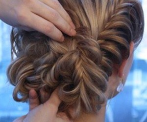 braid, formal, and updo image