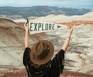 explore, travel, and adventure image