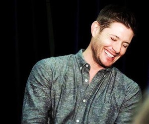 dean winchester, Jensen Ackles, and smile image