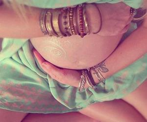 beauty, belly, and pregnancy image