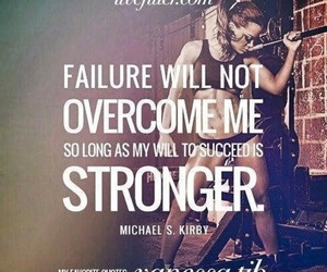 quote, strong, and failure image