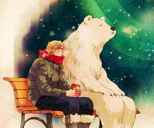 bear, hetalia, and Polar Bear image