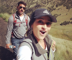 adventure, hiking, and couple image