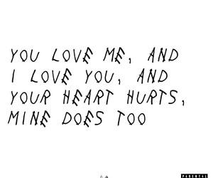 Drake and love image