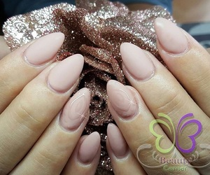 nails, Nude, and simple image