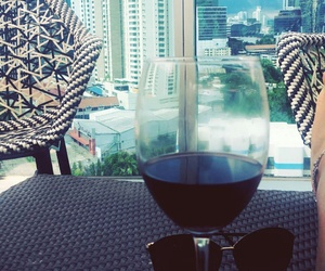 cup, vino, and vista image