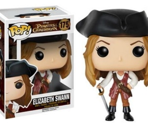 pirates of the caribbean, funko pop, and elizabeth swann image